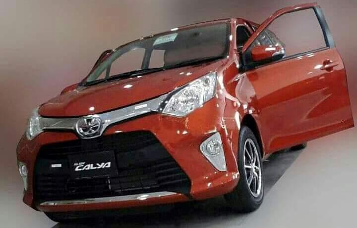 Tampang Toyota Calya
