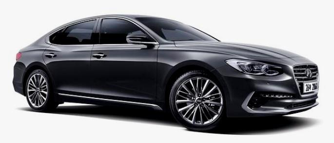 All New Hyundai Azera 2017 - exterior front