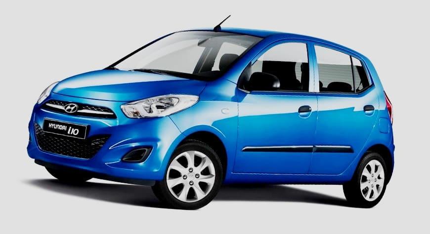 Hyundai i10 disuntik mati di India