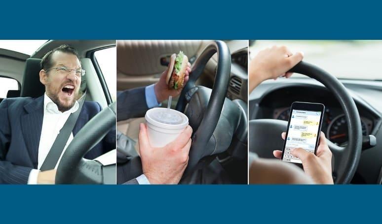 Prilaku mengemudi paling berbahaya - kebiasaan buruk pengemudi