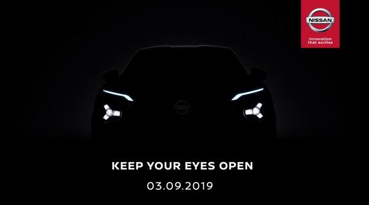 Teaser Nissan Juke 2020 Generasi Baru - Depan