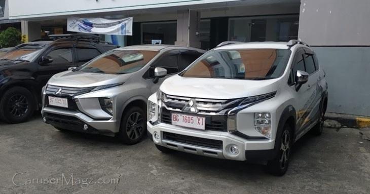 Mitsubishi Xpander dan Xpander Cross