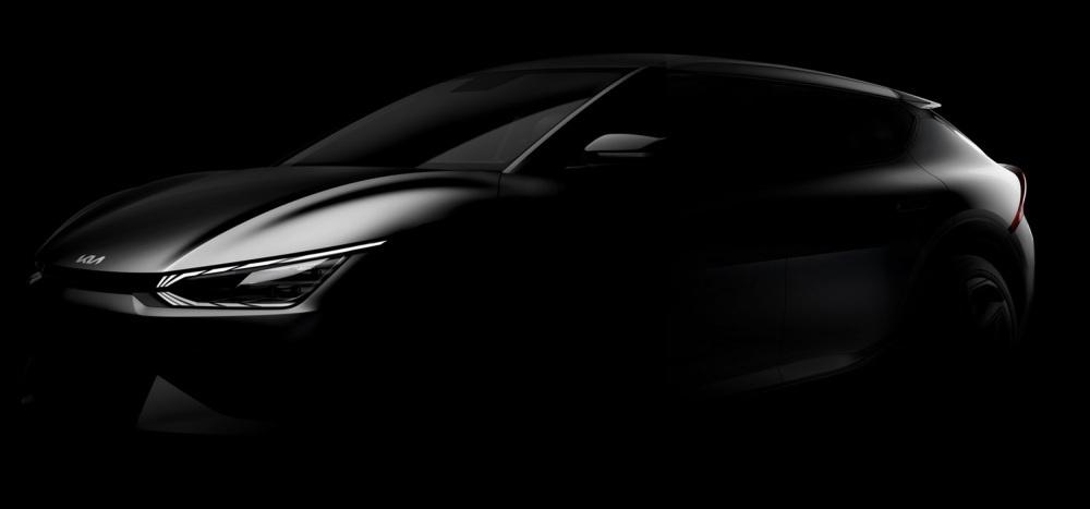 Teaser Mobil Listrik Pertama Kia berplatform E-GMP