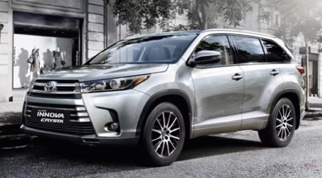 Toyota Innova versi SUV ternyata