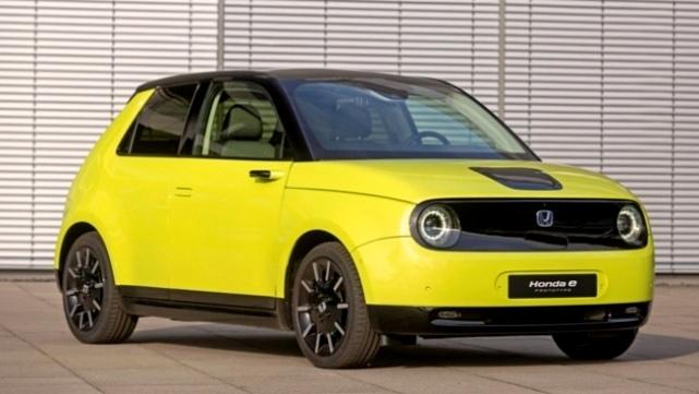 Honda E - Mobil Listrik Retro